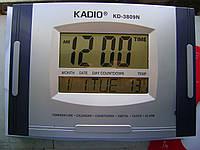 как настроить часы kadio kd-3810