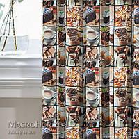 Шторы Декоративные в детскую комнату Испания Coffee, арт. MG-148902, 170*135 см (2 шт.), 170*135 см (2 шт.)