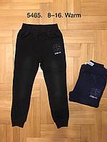 Брюки утепленные под джинс для мальчиков оптом, F&D, 8-16 лет,  № 5465, фото 1