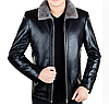 Мужская кожаная куртка. (01152)