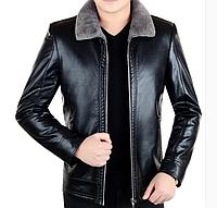 Мужская кожаная куртка. (01152), фото 1