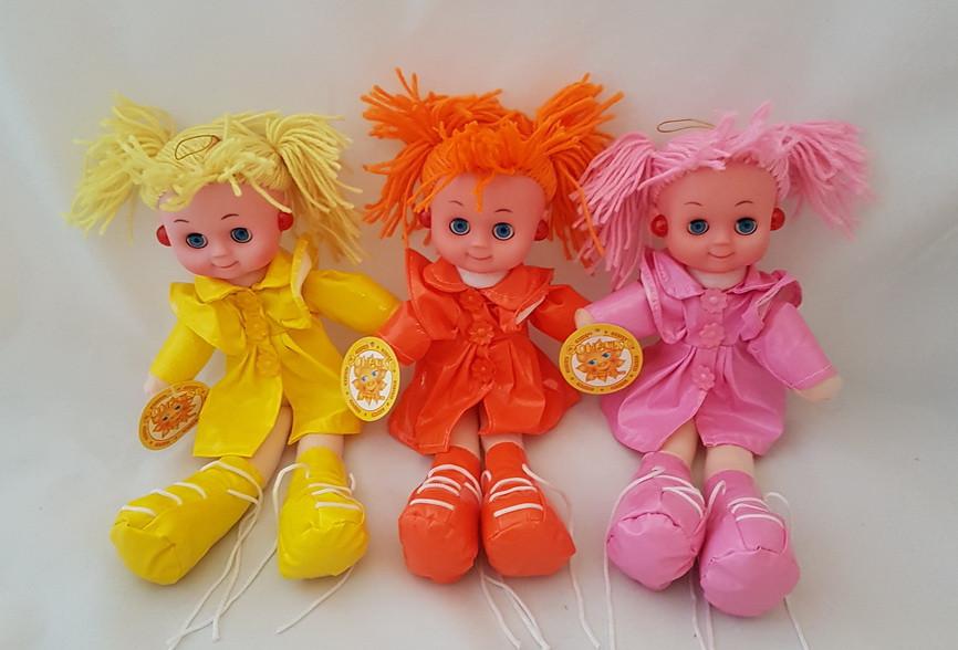 Кукла в сережках 34 см (музыка)