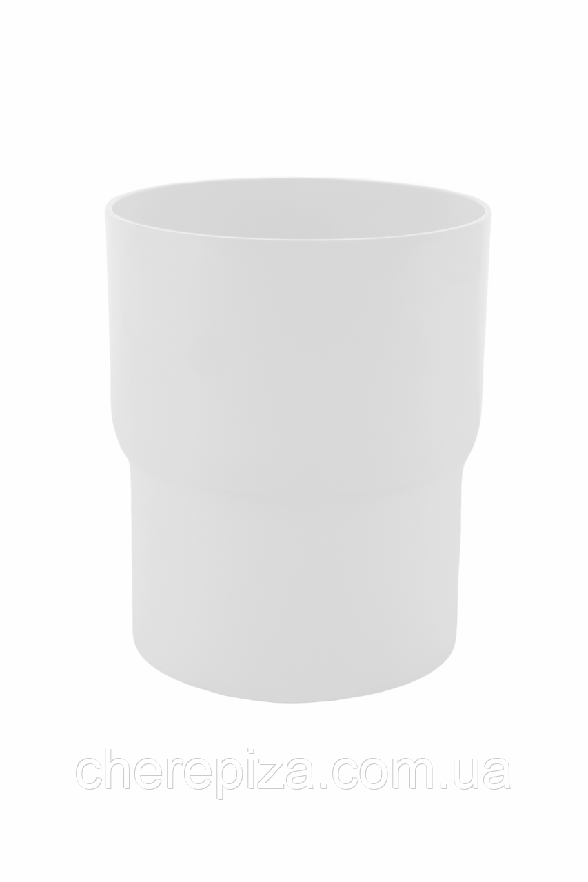 З`єднувач труби Profil 130 білий
