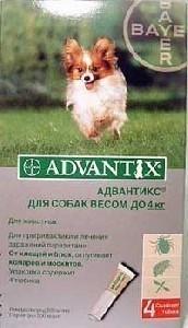 Адвантикс до 4 кг
