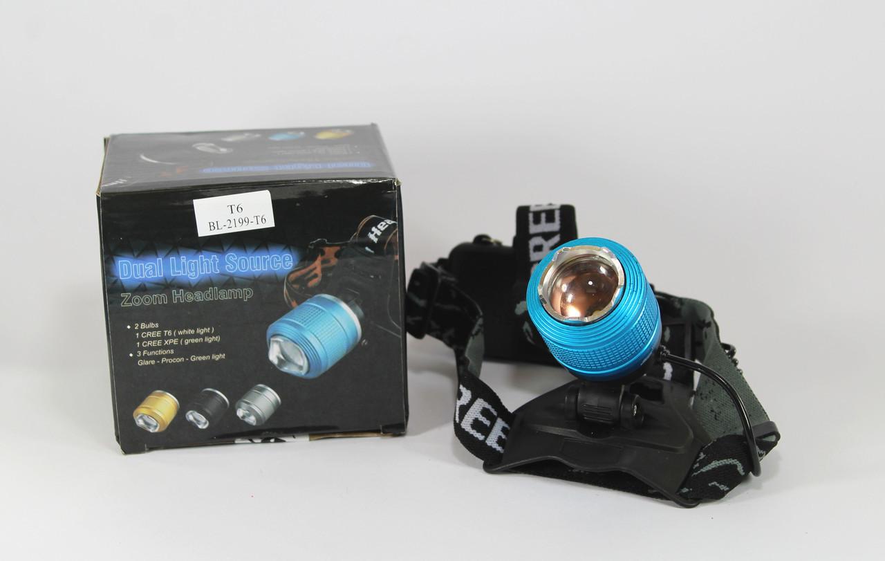 Налобный фонарь BL 2199