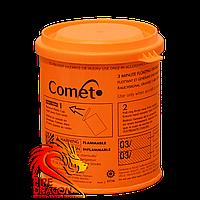 Цветная дымовая шашка COMET, время: 3 минуты, цвет дыма: оранжевый
