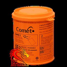 Кольорова димова шашка COMET, час: 3 хвилини, колір диму: помаранчевий