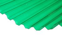 Лист Salux HR 70/18 2х0.9, зелена прозора трапеція