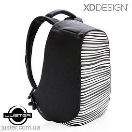 Рюкзак Bobby Compact Оригинал для ноутбука 14 XD Design антивор с принтом зебра