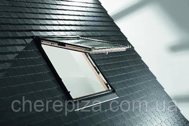 Вікно мансардне Designo WDF R85 H N WD AL 07/11