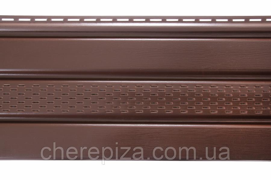 Панель ASKO коричнева перфорована 3.5 м, 1.07 м2