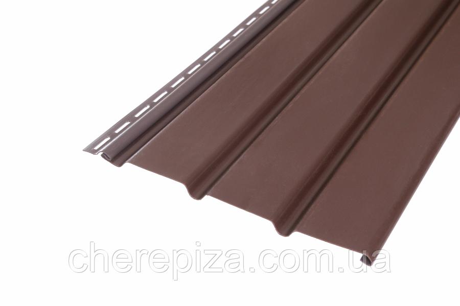 Панель ASKO коричнева без перфорації 3.5 м, 1.07 м2