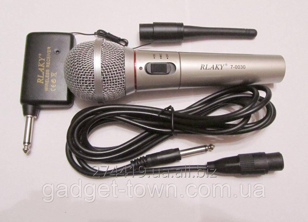 Динамический радио микрофон 2в1 - RLAKY