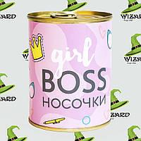 Консерва носок Girl Boss, фото 1