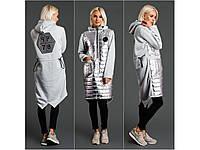 Женское платье-худи на синтепоне мод.3099