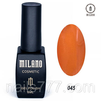 Гель-лак Milano 8 мл, № 045, фото 2