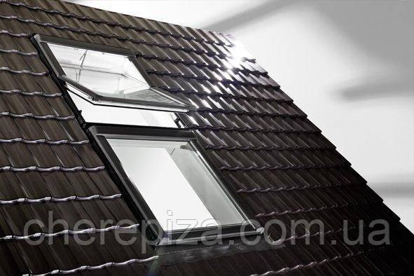 Вікно мансардне Designo WDT R45 H N WD AL 06/11 E