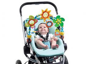 Развивающая дуга для коляски и автокресла Солнечная прогулка Tiny Love