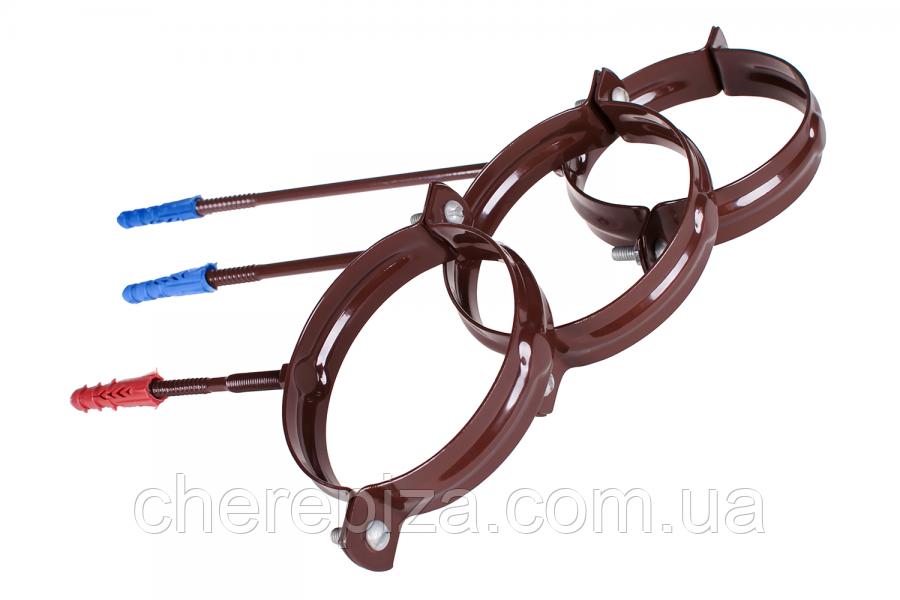 Держак труби Profil метал. L220 90 коричневий