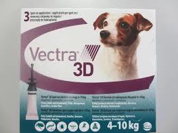 Вектра 3Д (Vectra 3D) капли на холку для собак 4 - 10 кг.