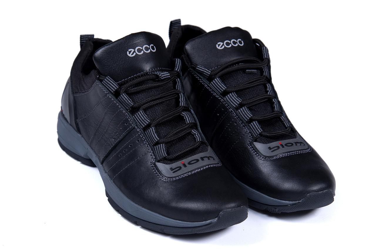 469b1407f Мужские кожаные кроссовки Ecco biom (реплика) - Интернет-магазин