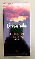 Чай Greenfield Golden Ceylon 25 пакетиків чорний, фото 1
