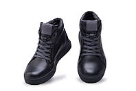 Мужские зимние кожаные ботинки Leather New Beat