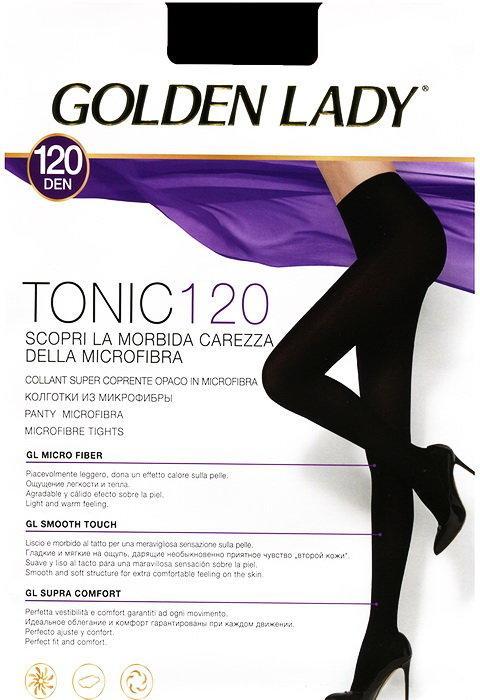 Колготки Tonic 120 den Golden Lady