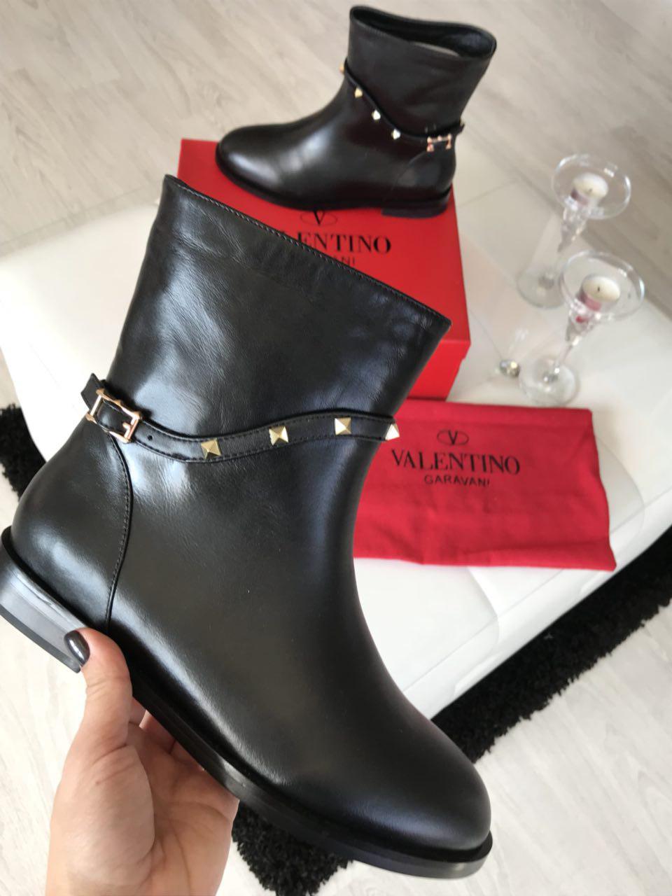 Ботинки женские кожаные брендовые