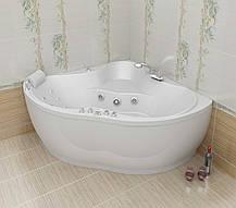 Акриловая угловая ванна ТРИТОН МЕДЕЯ 1425х1425х635, фото 2