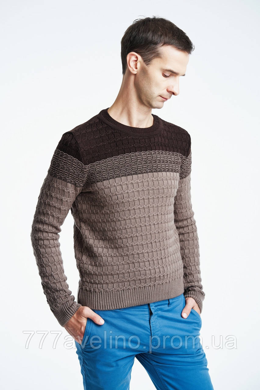 52dc7637cadf Мужской теплый свитер стильный: купить в Харькове, Украине. свитеры ...