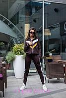 Женский спортивный костюм из дайвинга на молнии 205484, фото 1