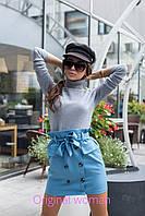 Женская юбка с завышенной талией 211131, фото 1