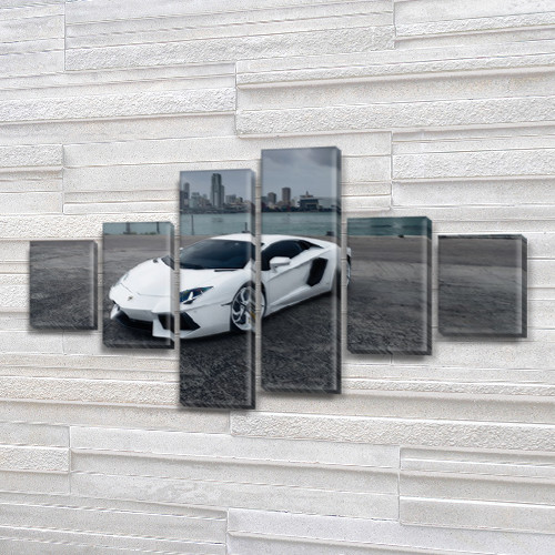 Картины модульные на ПВХ ткани, 80x135 см, (30x20-2/40х20-2/75x20-2)
