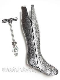 Колодка для растяжки голенища сапог металлическая женская