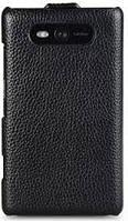 Чехол Melkco Leather Case Jacka Black for Nokia Lumia 820 (NKLU82LCJT1BKLC)
