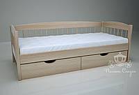 """Кровать одноярусная  """"Кантри"""" Natural. Ясень."""