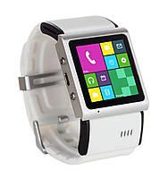 Умные часы-телефон SWaP Social Ref Ref Android, 1, Алюминий, GSM, Micro-SIM, Часофон, Белый
