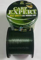 Леска CARP EXPERT  Dark Green 0,27mm 1200m, фото 1