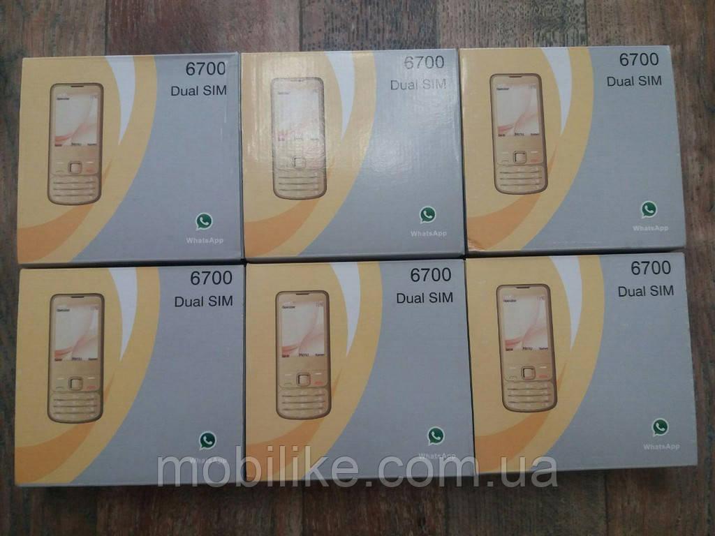Кнопочный телефон Nokia 6700 DualSim Корпус из металла!