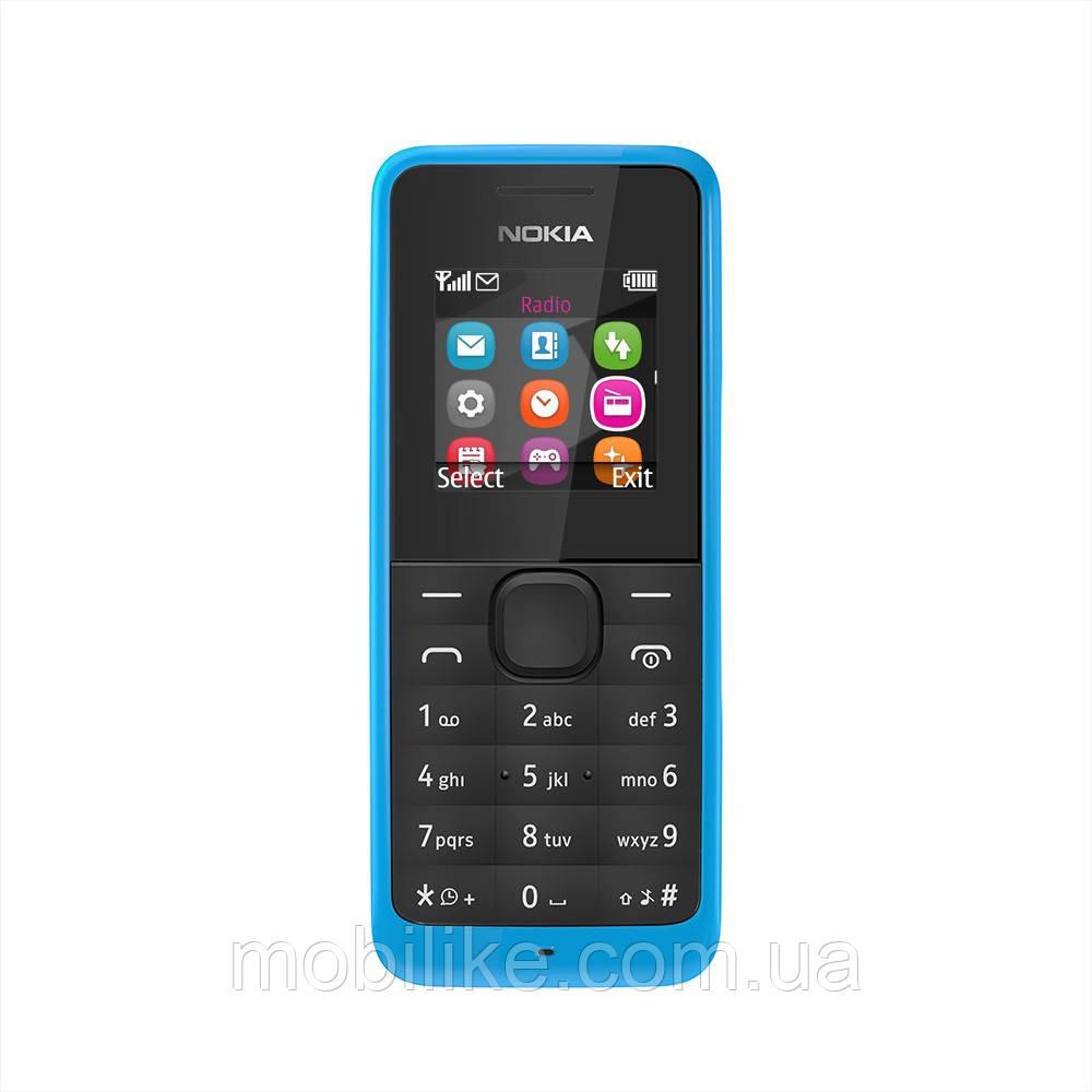 Мобильный телефон Nokia 105 + Фонарик + 800mAh