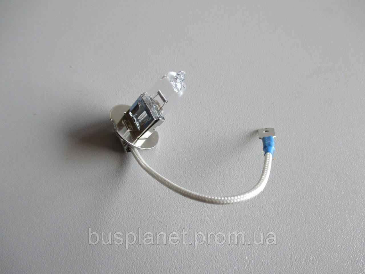 Лампочка H3 12v 55w (PK22s) +50% света