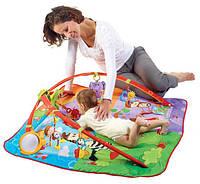 Развивающий коврик с дугами 5 в 1 Разноцветное сафари Tiny Love