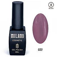 Гель-лак Milano 8 мл, № 023