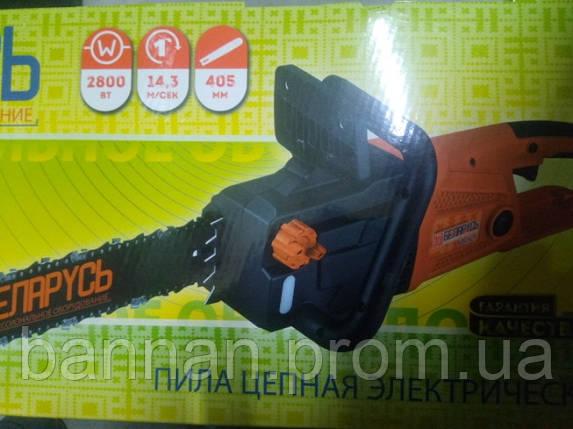 Цепная электропила Беларусь БП28-Т, фото 2