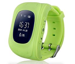 Дитячі розумні годинник з GPS трекером GW300 (Q50) Green