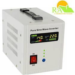 ИБП+стабилизатор (инвертор) 800ВА/500Вт/12В, AXEN.IA-800VA