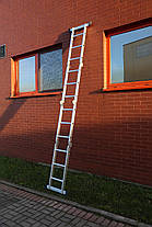 Лестница алюминиевая, 4x3 Higher, платформа, фото 3