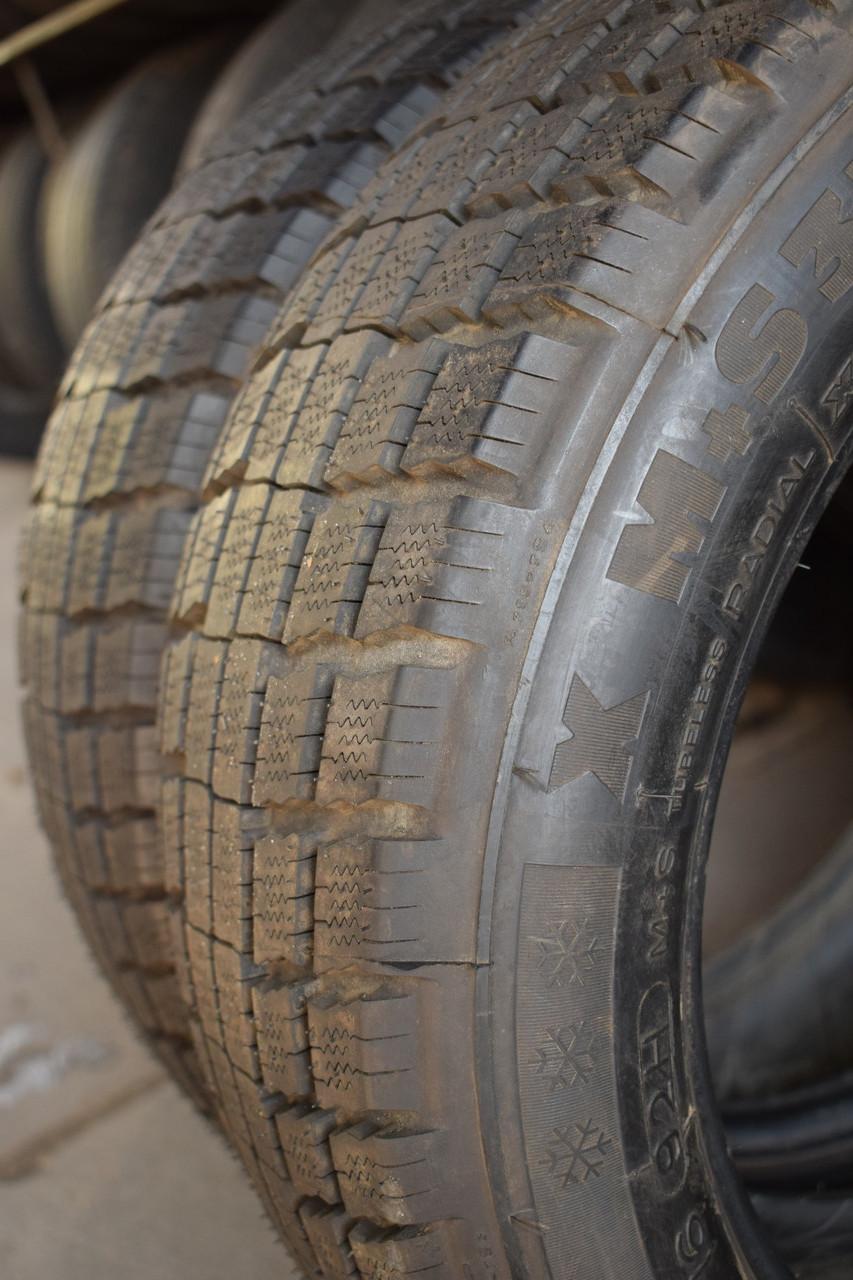 Шины б/у 225/50 R16 Michelin ЗИМА, 8 мм, пара