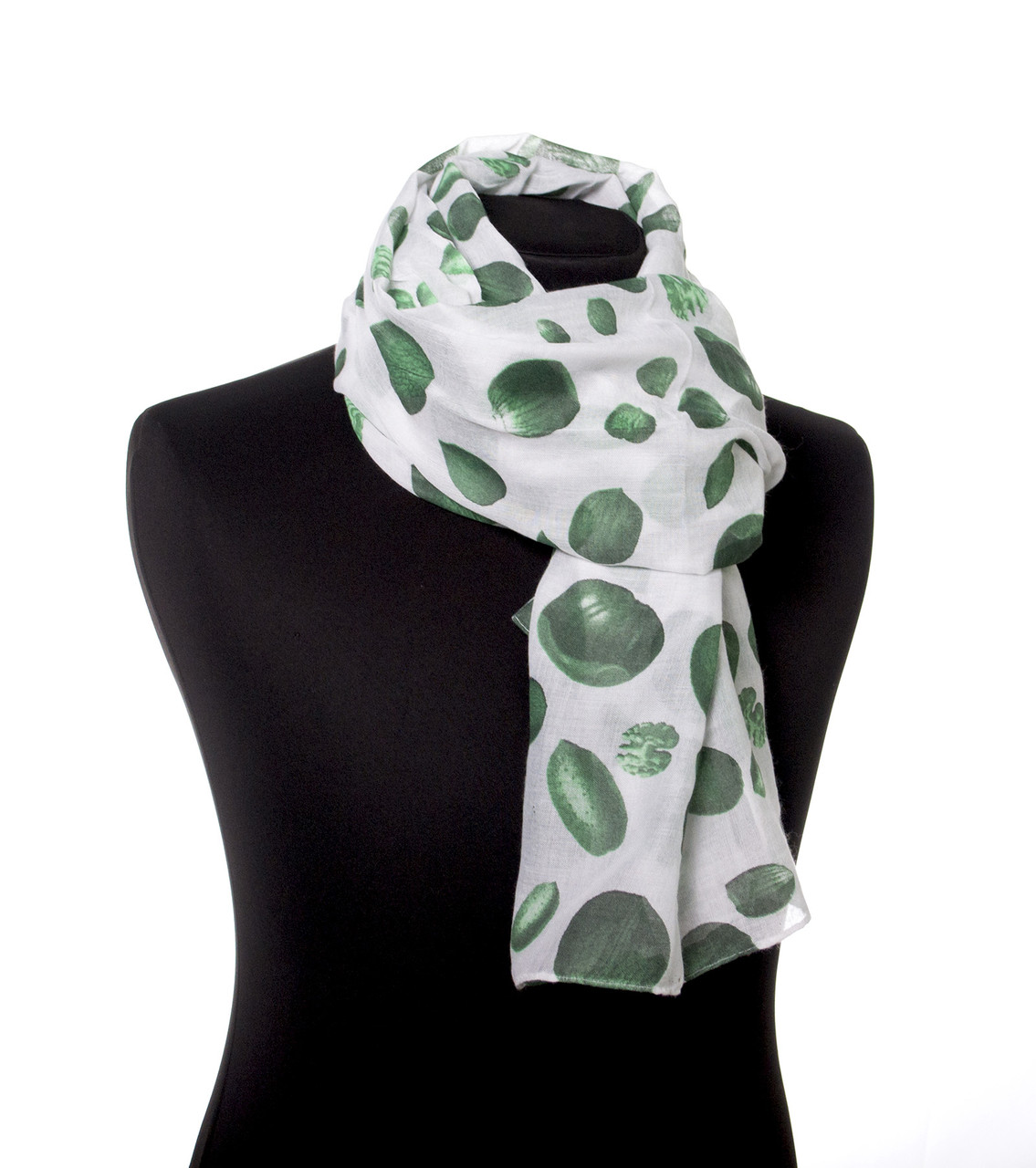 Шарф жіночий 170*60 см зелений